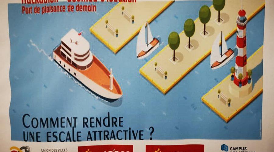 """C'est parti !!! Lancement du Hackathon """"Ports de plaisance"""", imag…"""
