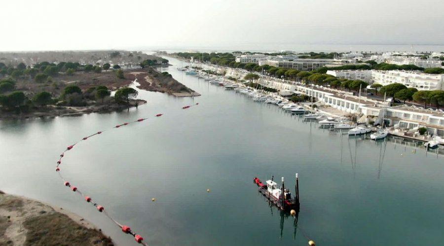 Environnement : Port-Camargue drague le chenal en recyclant les sédiments