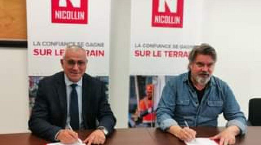 La société SMN, filiale du groupe Nicollin rejoint le Club des partenaire de l'U…